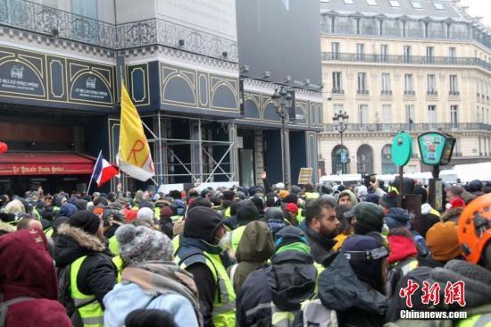 """188体育首页""""黄背心""""运动再起波澜法国又将迎来一大波示威"""