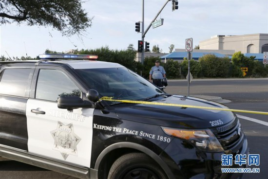 (国际) (1)美国加州一犹太会堂发生枪击1死3伤