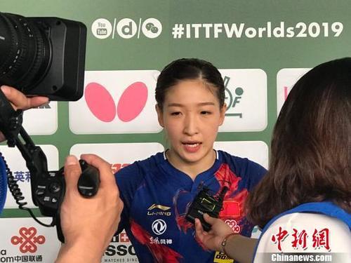 平野美宇祝贺刘诗雯夺冠网友:希望在东京看到你