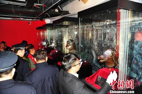 """圆怎么这老家伙还和黑帮有联系明园国宝兽首现身中国""""雪城""""牡丹江"""