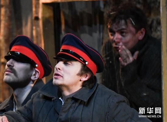 (文化)(1)話劇《靜靜的頓河》在哈爾濱上演