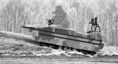 首款水陆两栖无人艇 打造具有全球竞争力的产品