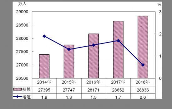"""2018年农民工监测调查报告:新生代农民工中超半数为""""80后"""""""