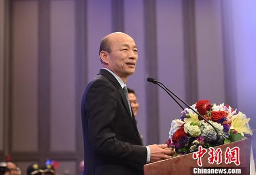 韩国瑜遭抹黑收4000万台币选举款 直接公布明细