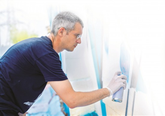 惠州茶园村:一堵涂鸦墙,一扇文化窗