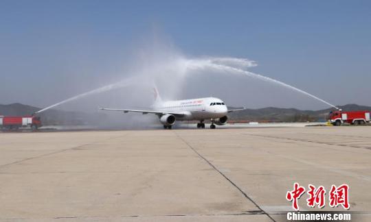 威海开通至韩国大邱、清州航线