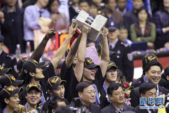 (体育・专题)(11)篮球――广东队九次获得CBA总决赛冠军