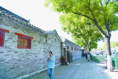 雍和宫大街改造预计8月完工