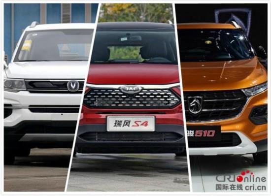 三款热销SUV实力对比