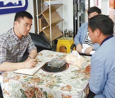 人民日报江苏分社记者在宿迁耿车镇蹲点调研
