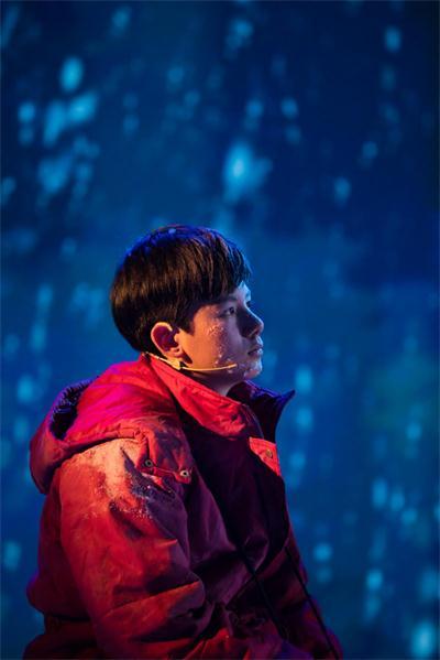 胡先煦参演湖南卫视五四文艺晚会 演绎登顶珠峰的励志故事