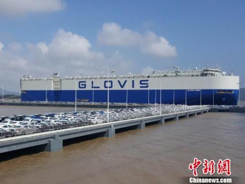 中国二手车出口业务正式启动二手车市场发展迎新风口