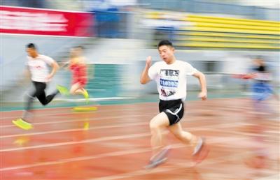 兴庆区第十三届中小学生田径运动会开赛