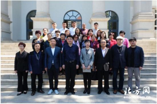 非遗传承人群研培计划天津美院第八期剪纸研修班开班