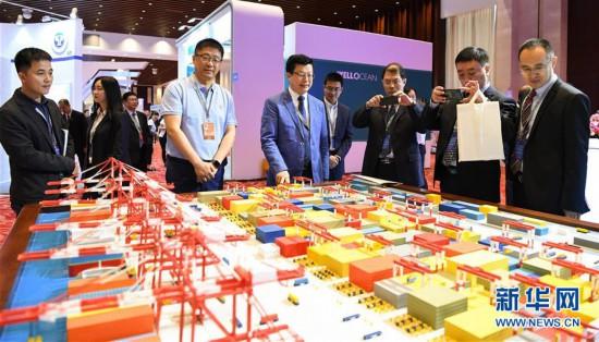 (社會)(3)2019年世界港口大會在廣州開幕