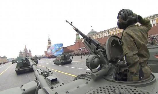 莫斯科红场举行胜利日大阅兵亮点都在这了