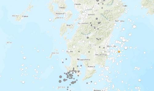 日本宫崎县附近发生6.3级地震未触发海啸预警