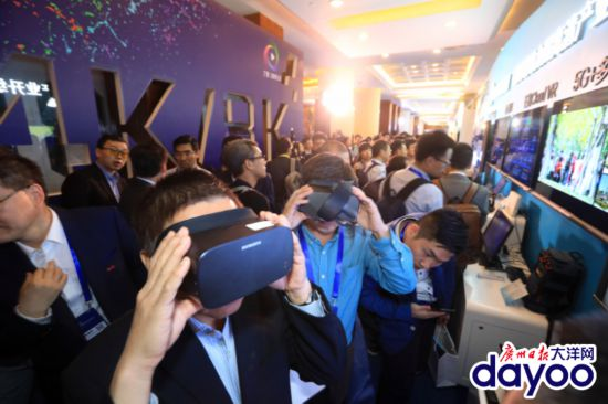 一大波4k/8k和5G高大上黑科技亮相广州