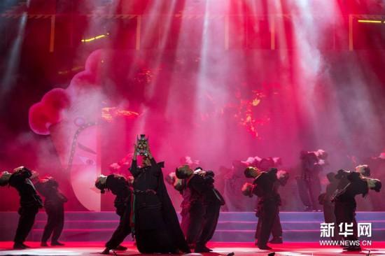 (文化)(1)第五届澄江傩戏文化节开幕