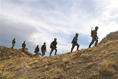下连一周,新战士巡逻海拔5000米