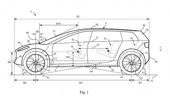 戴森电动汽车专利图公布有望2021年投产