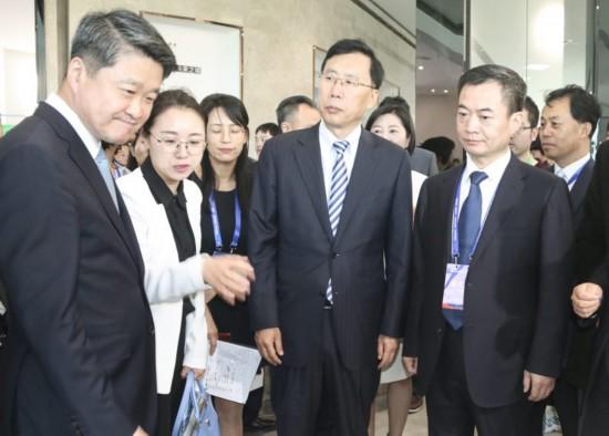 第四届丝博会中国(陕西)―韩国经贸互助洽谈会暨中国酵素城开园仪式举办