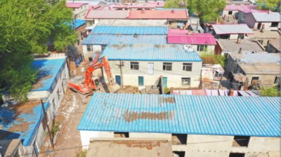 哈尔滨7000余平方米违建被依法拆除
