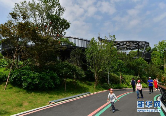 (美丽中国)(1)福州:逛城市绿道 享绿色生活