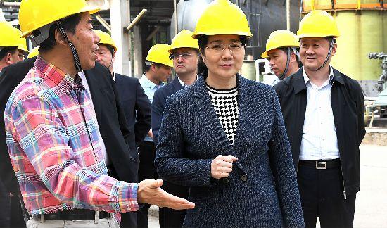 李淑侠到龙固化工园区督促安全生产和环保整改工作