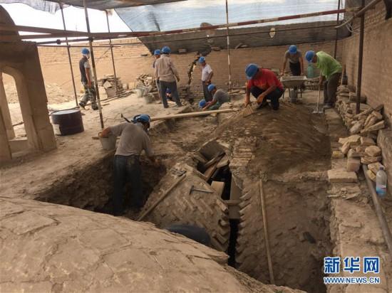 (国际·亚洲文明再发现·图文互动)(1)一座丝路古城 千年文明佳话