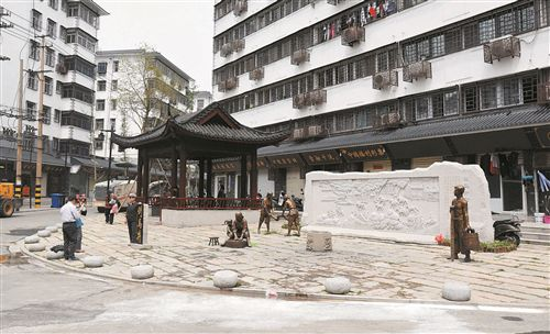 徐州倒马井文化街区改造工程竣工 市民竞相打卡