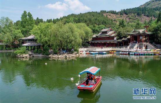山东济南:初夏泉城美如画
