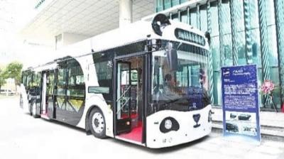 3辆自动驾驶公交车在天津投入运营