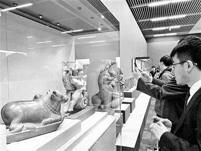 """""""大美亚细亚——亚洲文明展""""在国家博物馆开幕  451件组文物讲述各国文明故事"""