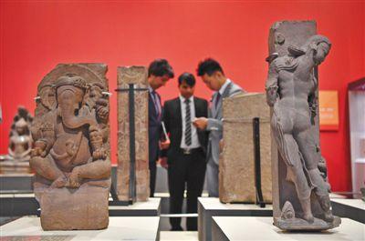 亚洲47国文物国博开展文物早至公元前7000年