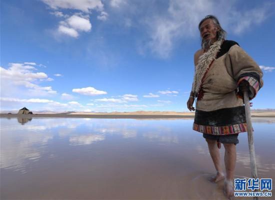 (专发新华网西藏频道)(图文互动)天边的驮盐队――藏北牧人远去的背影(9)