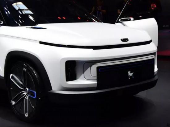 吉利全新SUV下半年上市 外观酷似路虎