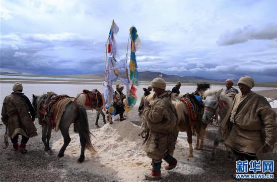 (专发新华网西藏频道)(图文互动)天边的驮盐队――藏北牧人远去的背影(20)