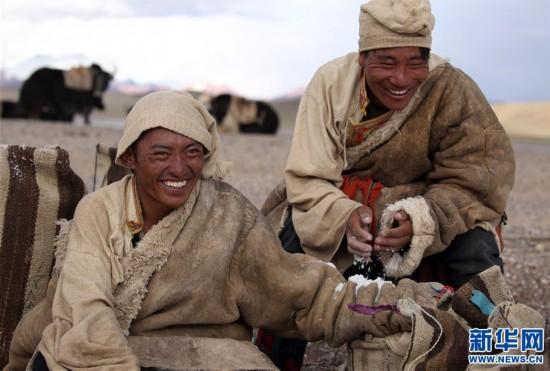 (专发新华网西藏频道)(图文互动)天边的驮盐队――藏北牧人远去的背影(16)