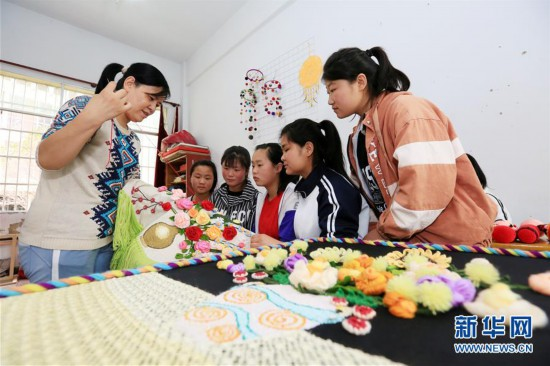 #(教育)(1)贵州毕节:特殊教育学校学生才艺展示