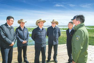彭清华在阿坝州调研时强调 统筹推进生态环保、文旅融合和脱贫攻坚 努力走在川西北生态示范区建设前列