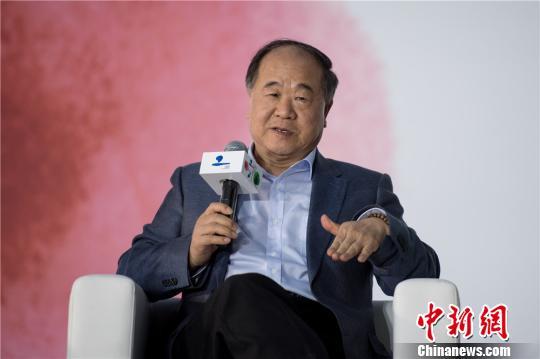 诺奖得主莫言:乡土是根北京是枝叶(图)