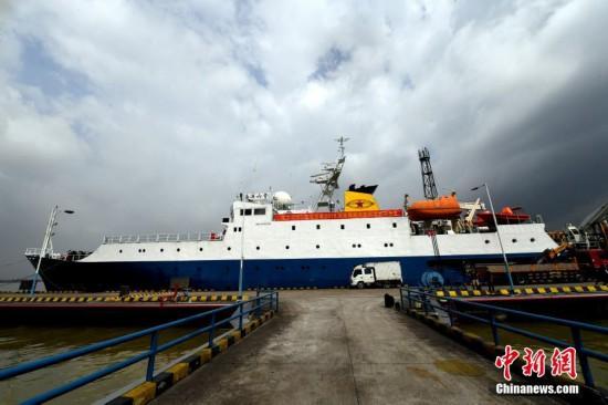 """""""海洋六号""""科考船完成深海探测共享航次任务"""