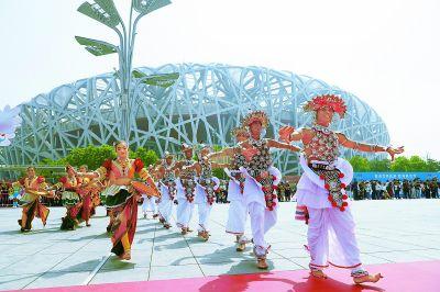亚洲大话开幕和亚洲美食节在京盛大巡游攻略手游寻芳文明14图片