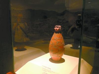 甘肃文物精品今起国博开展其中62%为国家一级文物