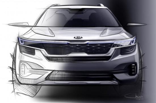 起亚公布全新小型SUV设计图年底上市