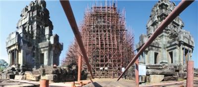 """""""我""""在吴哥古迹修文物:承担核心王宫遗址修复"""