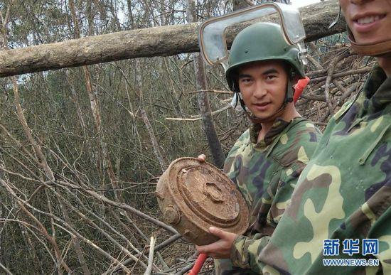 新時代最可愛的人——記陸軍某掃雷排爆大隊英雄戰士杜富國