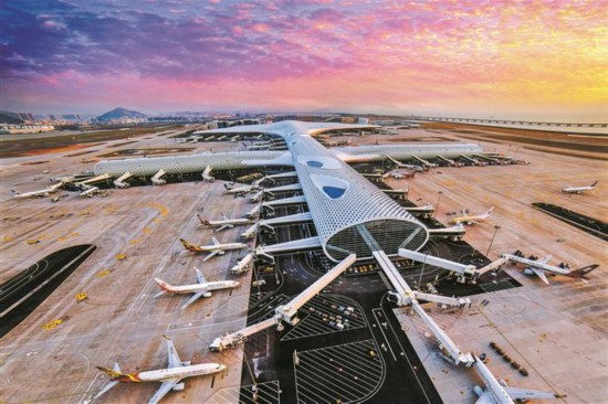 深圳国际航线通达全球50城