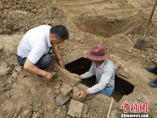 安徽界首发现一座宋代古墓